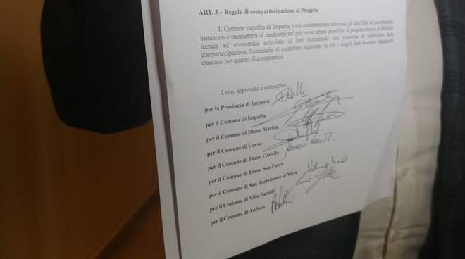 firma protocollo d'intesa Roja