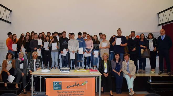Premiazione studenti liceo Aprosio