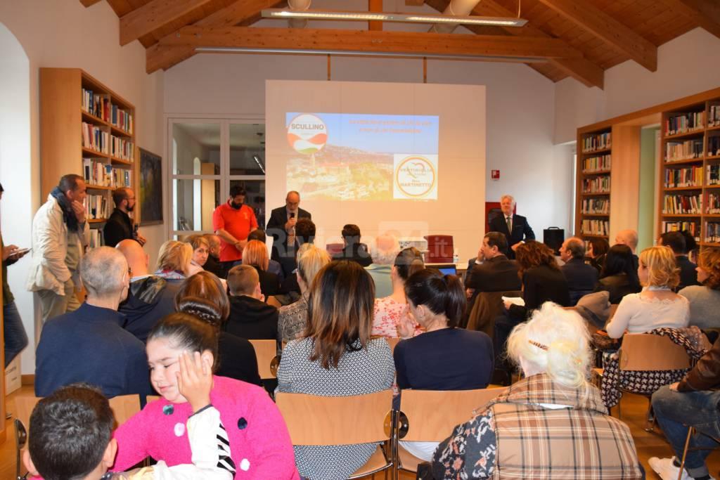 presentazione liste civiche Scullino sindaco