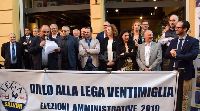 Presentazione liste Forza Italia Lega
