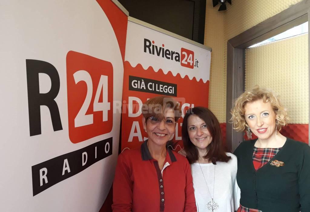 riviera24 - Giovanna Baldassare, Giusy Di Martino, Patrizia Sciolla