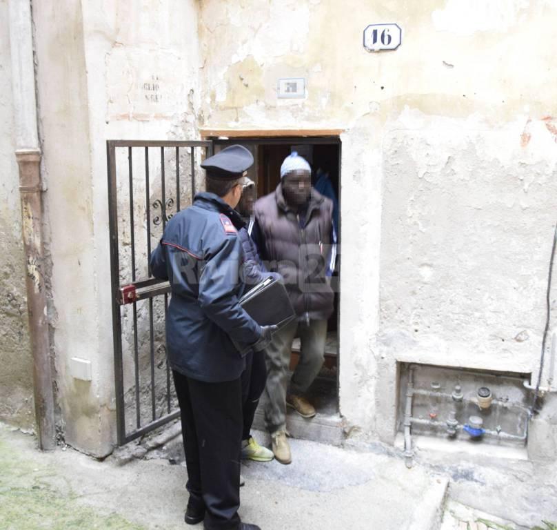 riviera24 -  blitz nella Pigna Carabinieri