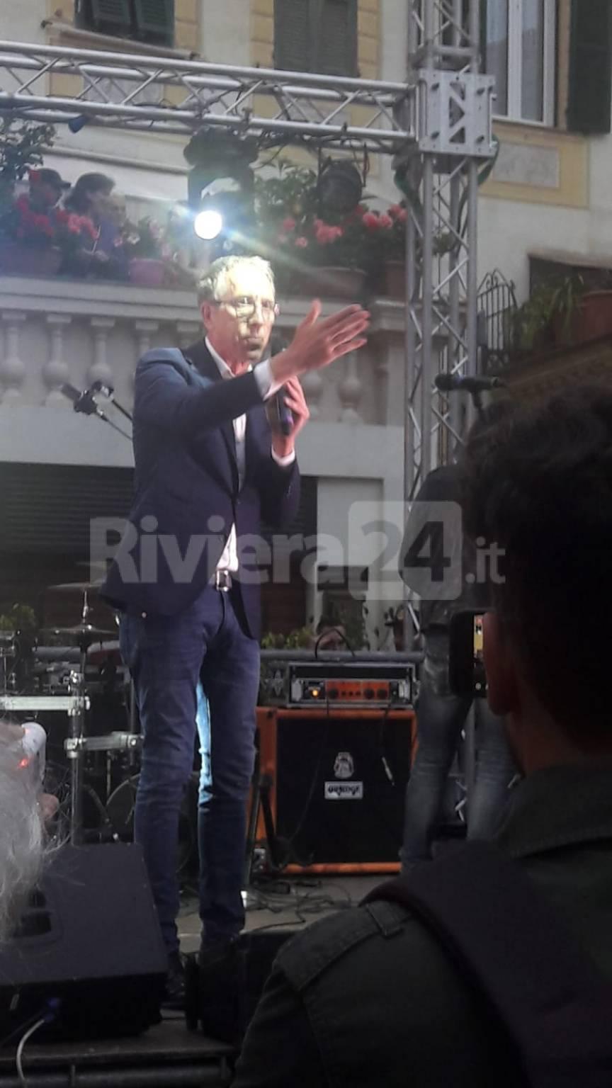 riviera24- Chiusura campagna elettorale Alberto Biancheri