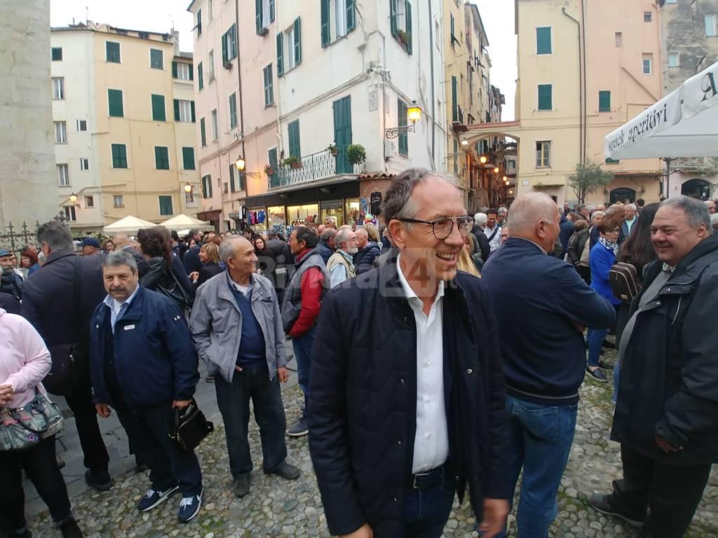 riviera24 - Chiusura campagna elettorale di Alberto Biancheri