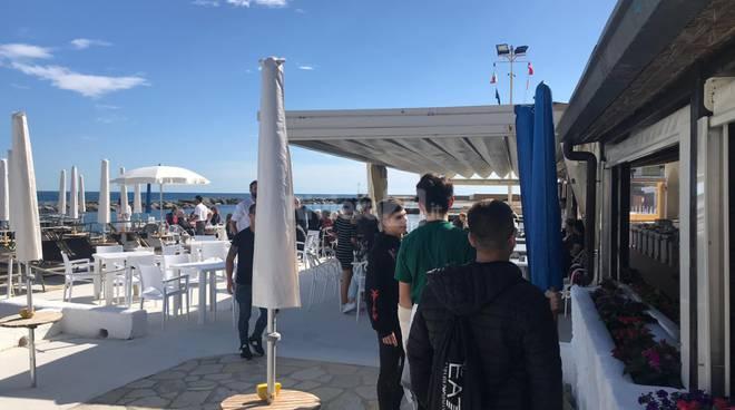 """riviera24 - inaugurazione dei bagni """"Ippocampo"""""""