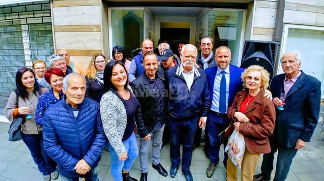 Riviera24- inaugurazione punto d'ascolto Isaia e Frattarola