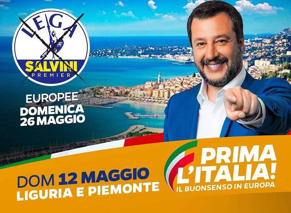 Riviera24- Manifesto Salvini