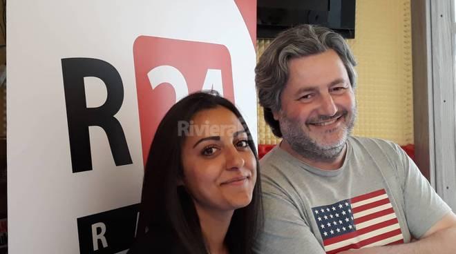 riviera24 - Nesibe Caprile e Walter Sindoni