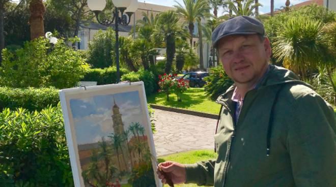 Riviera24- pittori russi a Diano Marina