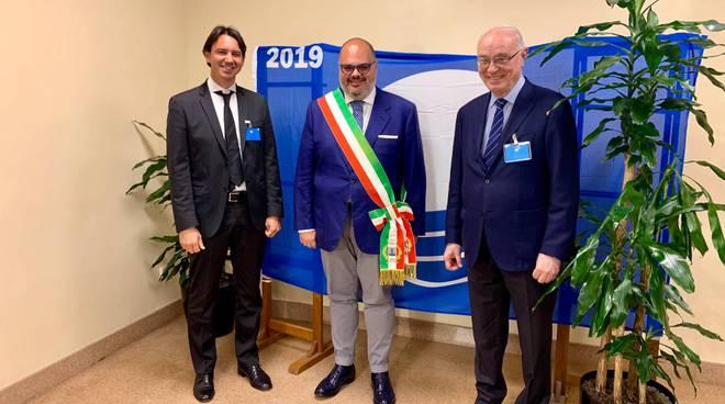 """riviera24 - Riva Ligure """"Bandiera blu"""""""