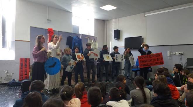 Riviera24- scuola pieve di teco