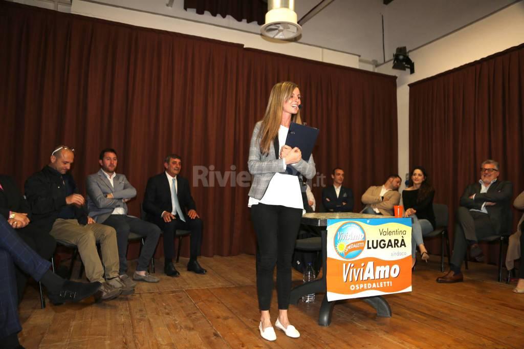Valentina Lugarà presenta lista e programma di Viviamo Ospedaletti