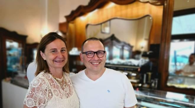 Cristina Canepa e Maurizio Santin