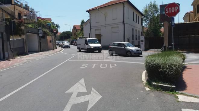 Inversione senso di marcia via Bonfante aggiornamento