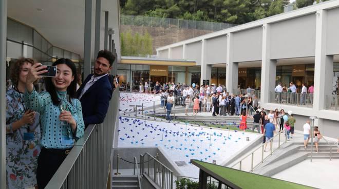 L'inaugurazione di The Mall Sanremo biancheri