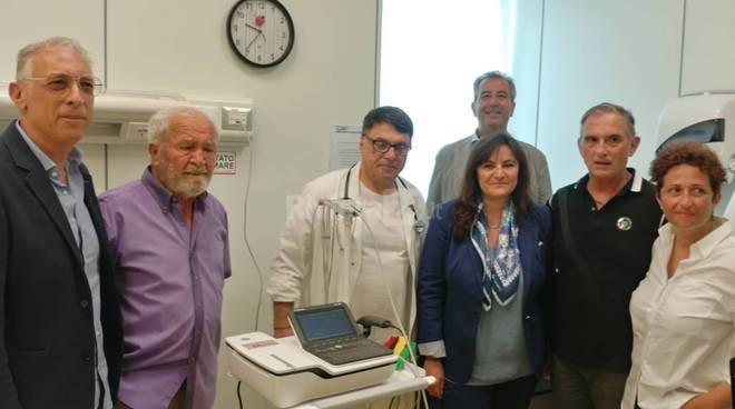 riviera24 - donata apparecchiatura al pronto soccorso