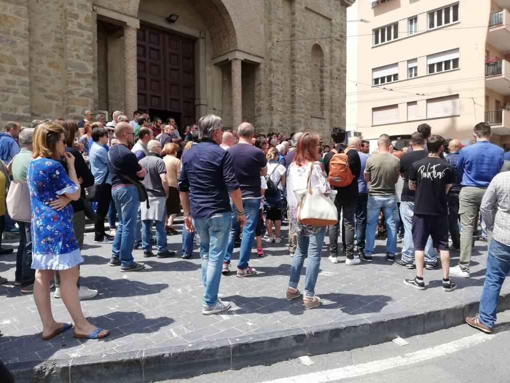 Riviera24- Funerale massimino Marino