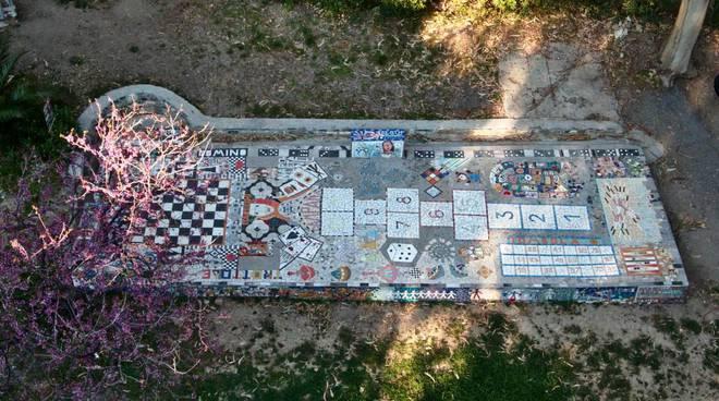 Riviera24- mosaico di Costarainera