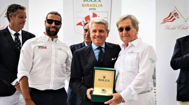Riviera24- Rolex giraglia premiazione