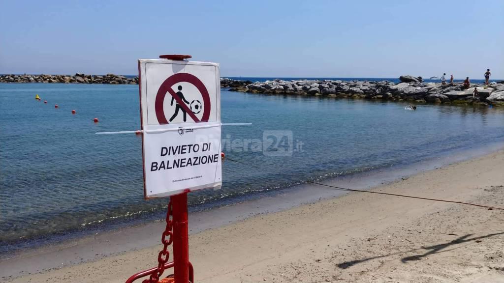 riviera24-spiagge di sanremo divieto di balneazione