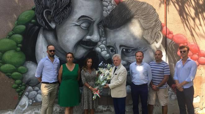 Amministrazione Scullino omaggia Falcone Borsellino