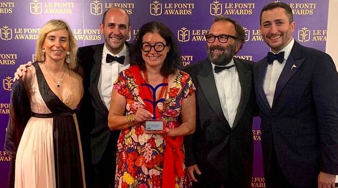 Barbara Amerio a Le Fonti Awards