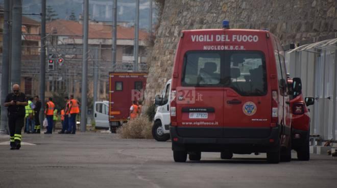 Carro cisterna difettoso Ventimiglia