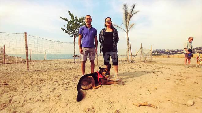fichera spiaggia cani arma di taggia