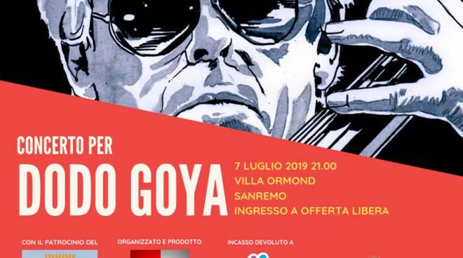 dc74efeedc Sanremo, a Villa Ormond concerto per Dodo Goya a favore del gruppo ...