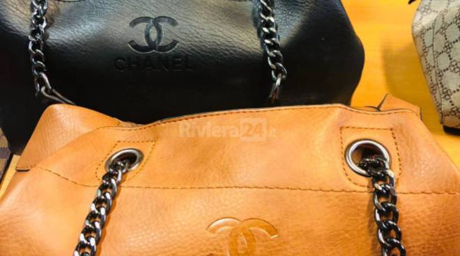 riviera24 - merce contraffatta borse e cinture patacche