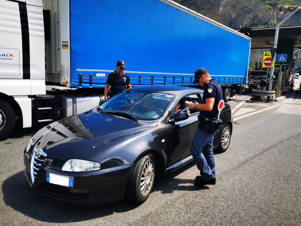 riviera24 - polizia frontiera