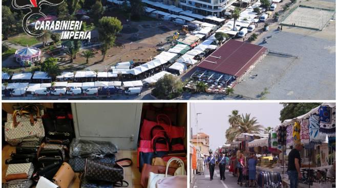 Riviera24- sequestro patacche mercato ventimiglia