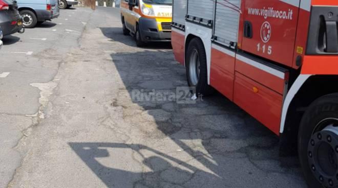 riviera24 - soccorsi apricale campagna 118 vigili del fuoco