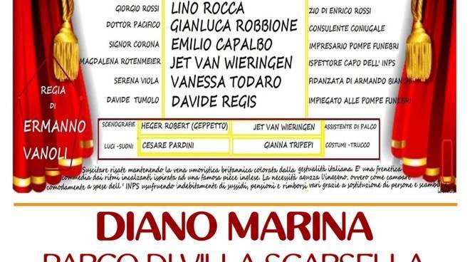 Attività benefiche del Lions Club Diano Marina  in Villa Scarsella.