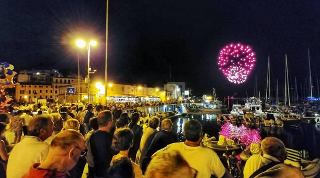 Fuochi di Ferragosto a Sanremo