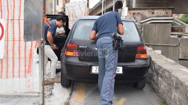 Inseguimento polizia ventimiglia