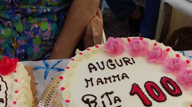 La signora Rita Papone spegne 100 candeline