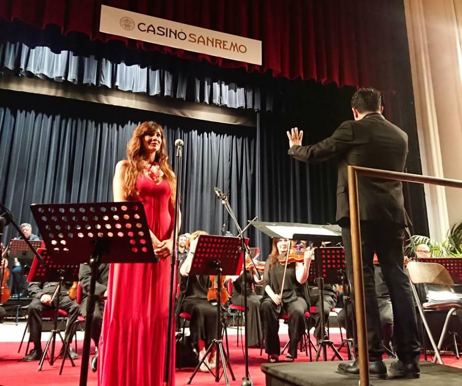 Luisa Corna al Casinò