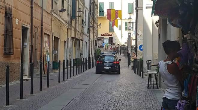 Riviera24- carabinieri Ventimiglia alta