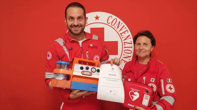 Riviera24- defibrillatore croce rossa