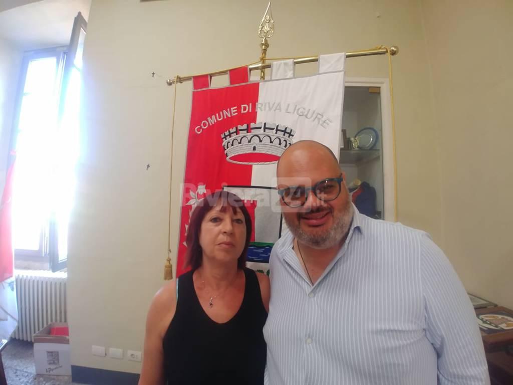 riviera24 - Giorgio Giuffra e Rosetta Sabatino