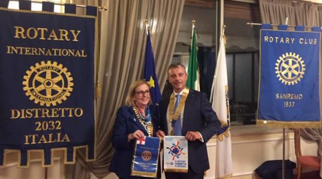 riviera24 - Ines Guatelli e Rotary Club Sanremo