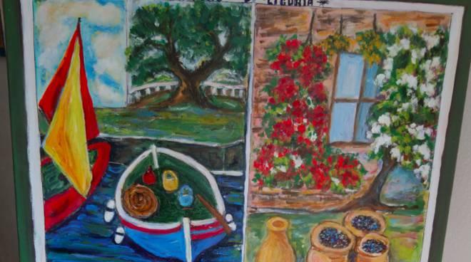 Riviera24- mostra pittura Pompeiana