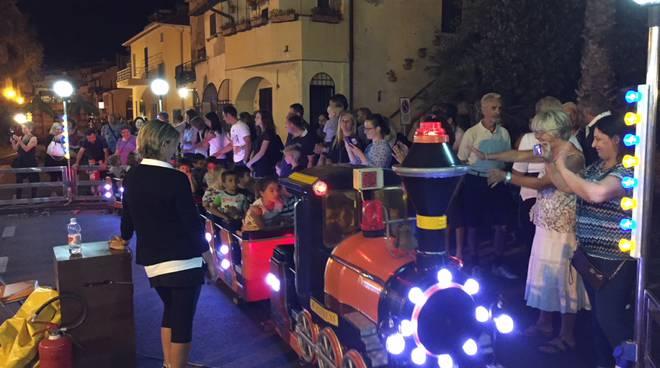Riviera24- notte bianca bambini a riva ligure