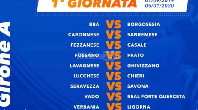 Calendario Serie A Ottava Giornata.Serie D Calendario Della Stagione 2019 2020 La Sanremese