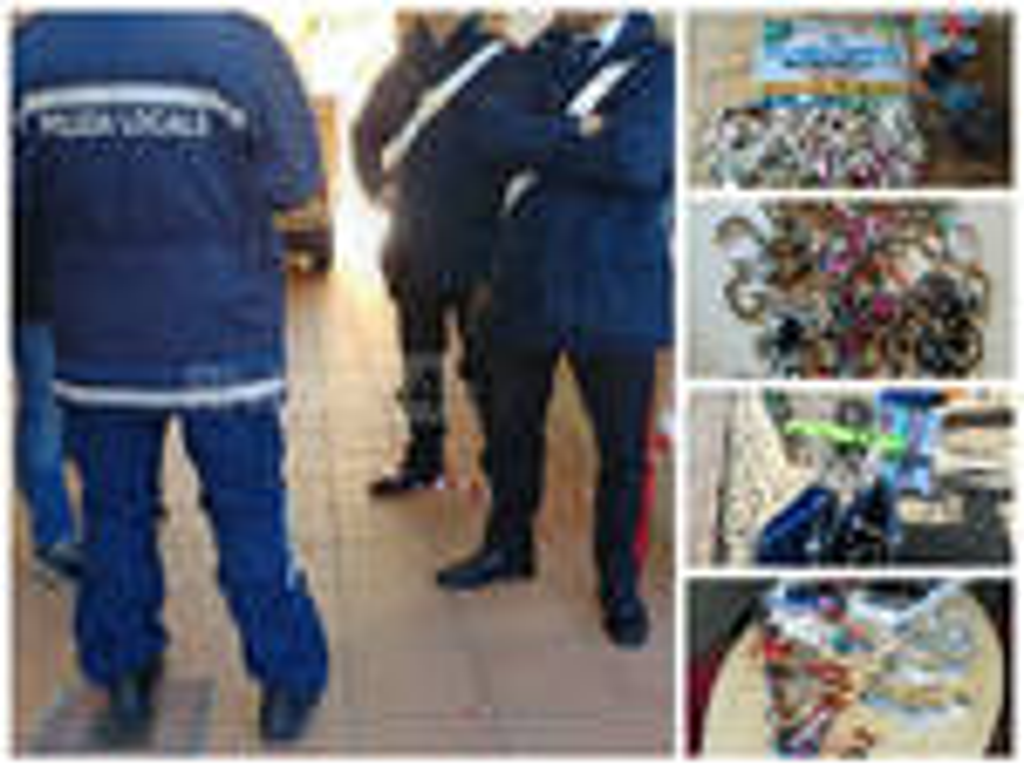 riviera24 - taggia carabinieri polizia locale collage