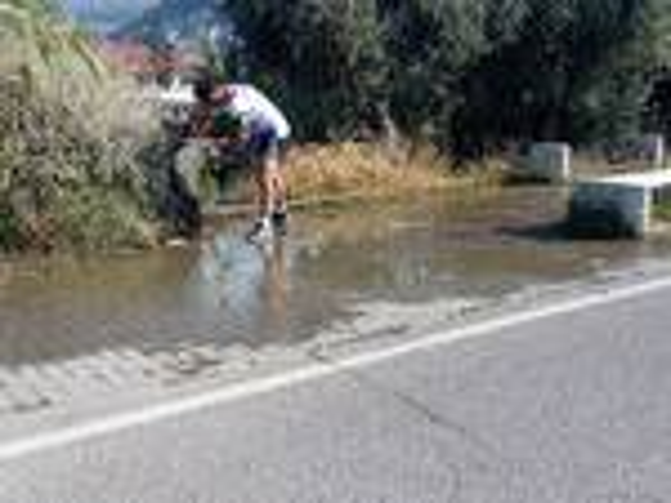 riviera24 - Taggia, incuria e degrado sulla pista ciclopedonale
