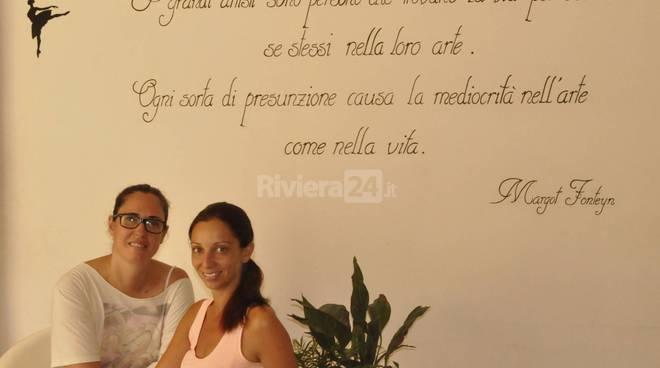 riviera24 - Alexandra Maccario e Valentina Mazzone