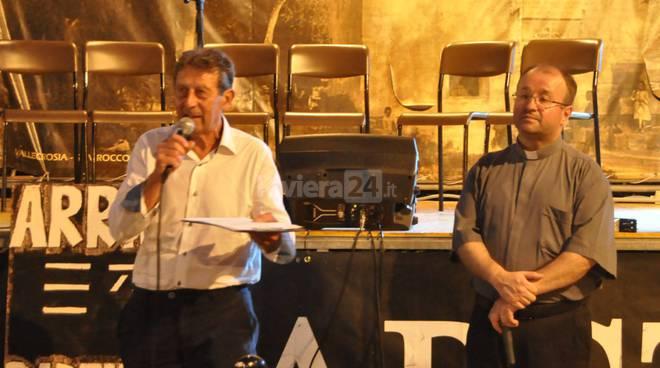 riviera24 - Marino Moraglie e  don Antonio Robu