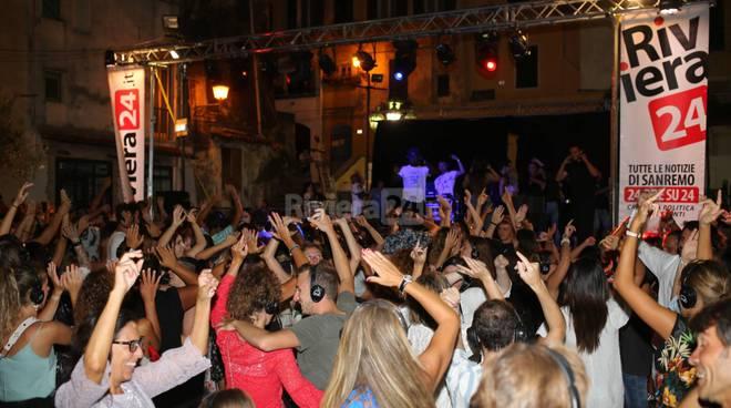 Silent disco a Sanremo, R24 main sponsor della terza edizione